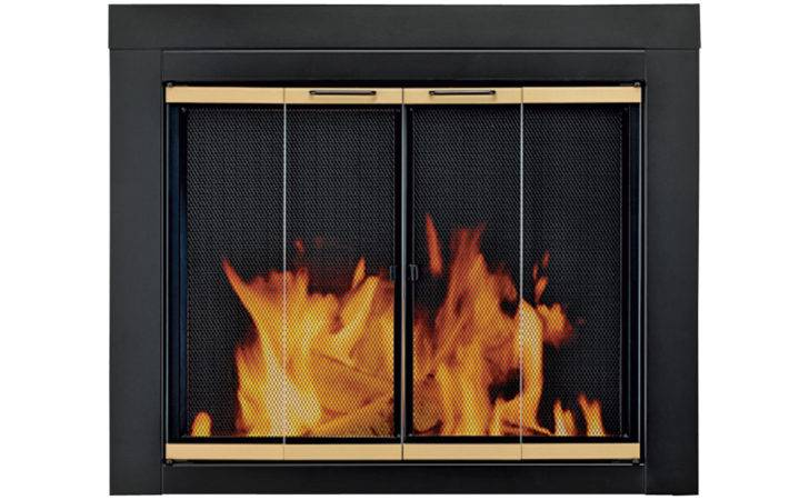 Hearth Arrington Fireplace Glass Door Masonry Fireplaces