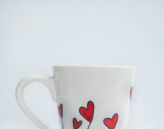 Hearts Mug Sharpie Art Designs Diy