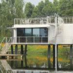 Heavy Steel Modern Modular Homes New Design Frame Prefab House