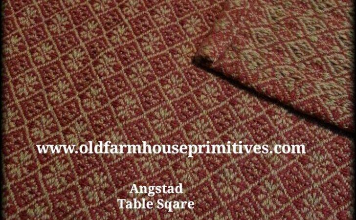 Heirloom Weavers Angstadt Red Hemp Made Usa