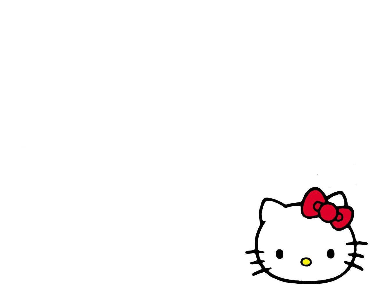 Hello Kitty White
