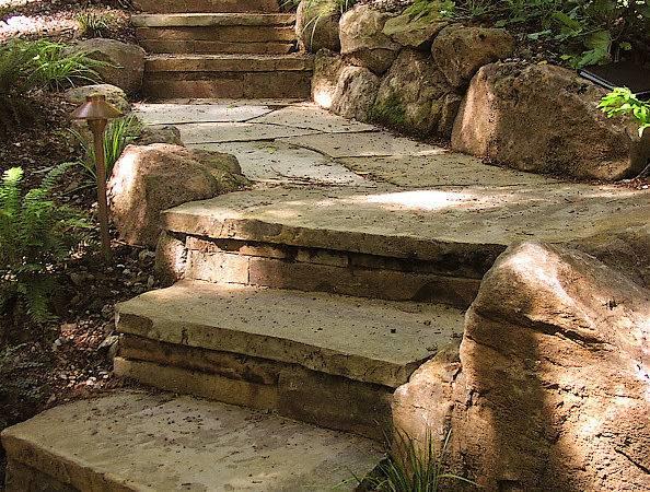 Help Stone Flagstone Pathway Ideas