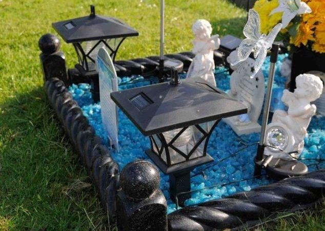Her Son Grave Stealing Solar Panel Lights Elaborate Plot