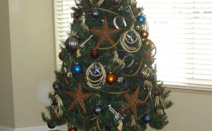 Here Home All Decor Western Cowboy Themed Christmas Tree