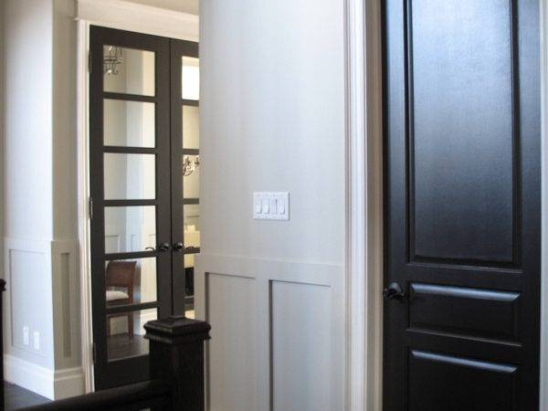 Here Home Interior Design Black Doors