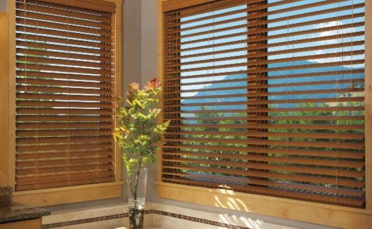 Here Some Contemporary Faux Wood Bathroom Window Treatments