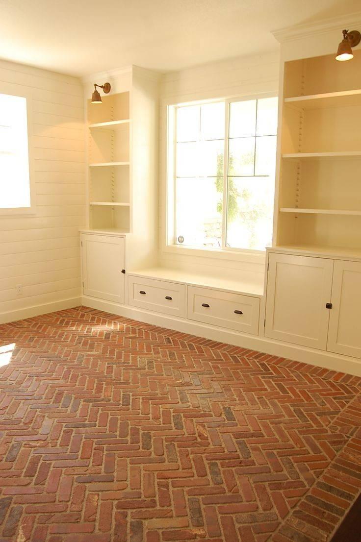 Herringbone Brick Floor Walls Home Sweet Dream