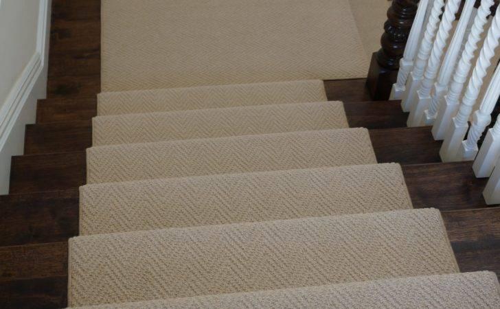 Herringbone Wool Stair Runner Hemphill Rugs Carpets Portfolio