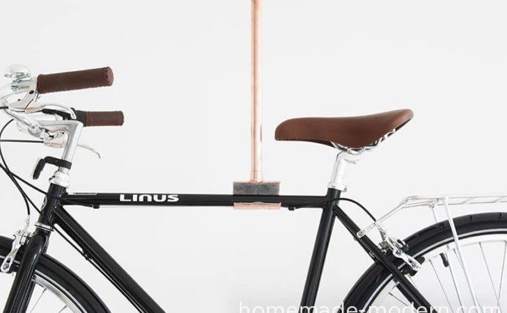 Hhomemade Modern Diy Copper Bike Rack Options