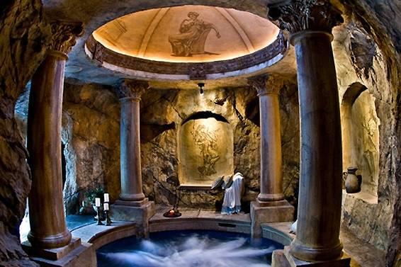 Hidden Grotto Century Villa Pietra Italy