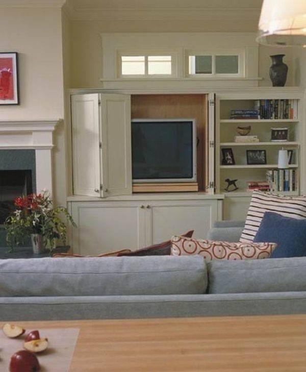 Hidden Storage Ideas Living Rooms