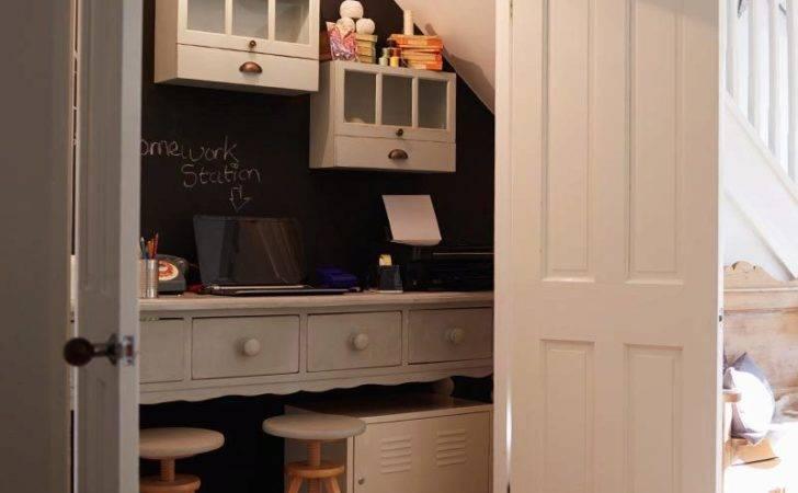Hidden Workspace Ideas Your Under Stair Home Office