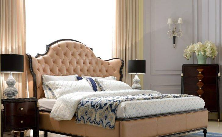 High Class Bedroom Furniture Wood