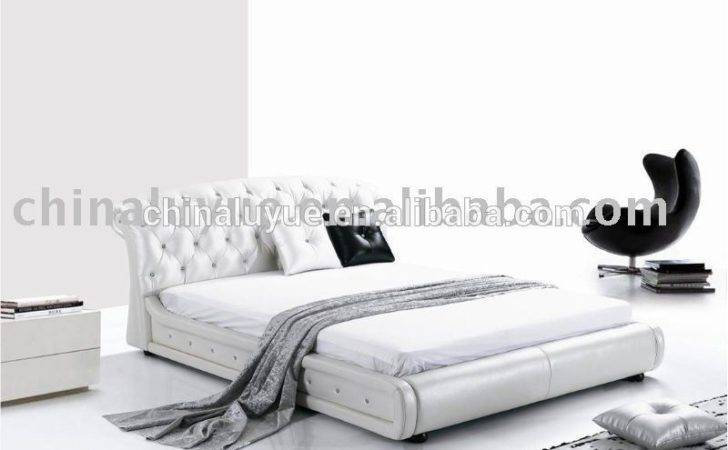 High Class Modern Bedroom Furniture Buy Soft Leather Bed