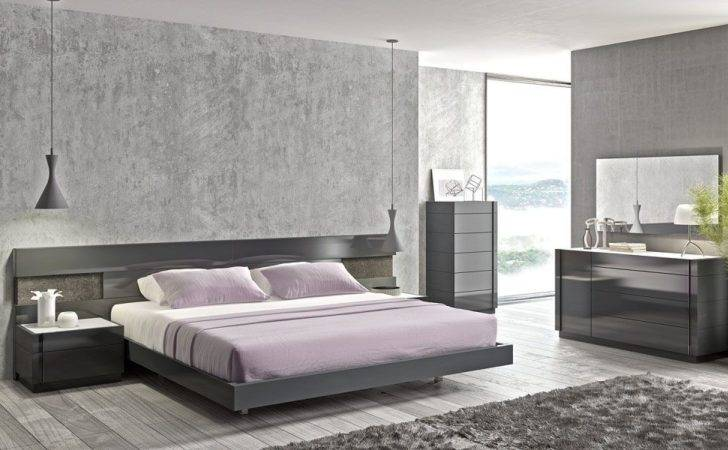High Class Wood End Bedroom Furniture Long Panels