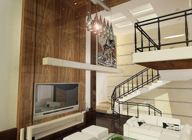 High Definition Modern Open Space Living Room Interior Design