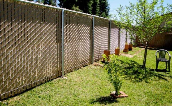 High Desert Privacy Chain Link Fence All American Erectors