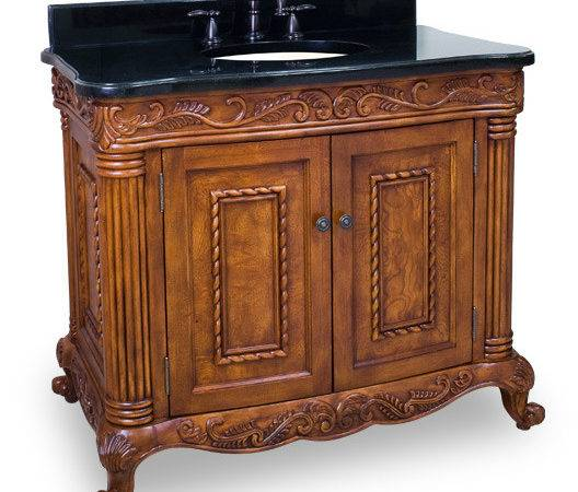 High End Bathroom Vanities Featuring Tuscany Cabinet Door