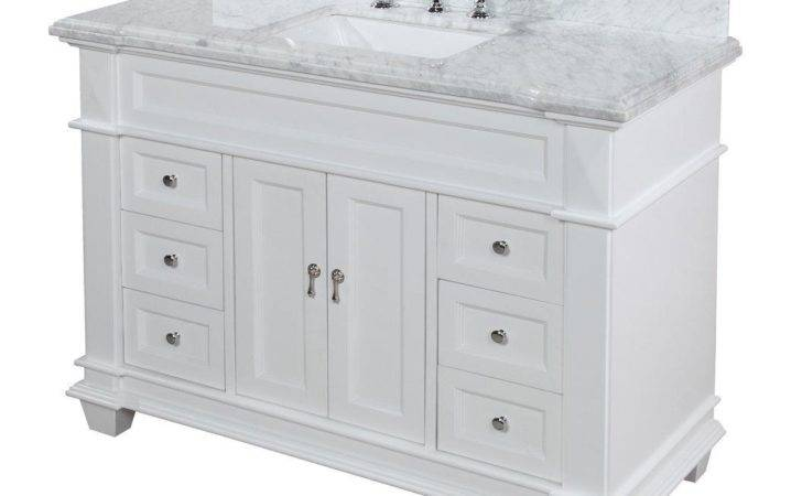High End Bathroom Vanities White