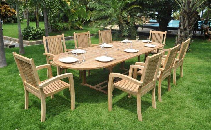 High End Outdoor Furniture Ideas Wooden Patio Sets