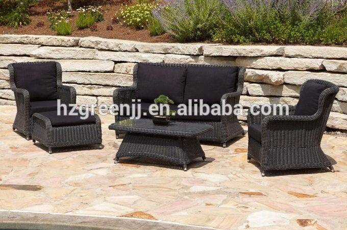 High End Outdoor Furniture Model Round Rattan Buy