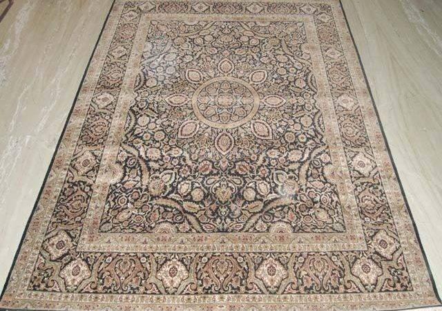 High End Quality Carpet Handamde Silky Tabriz Rug Ebay