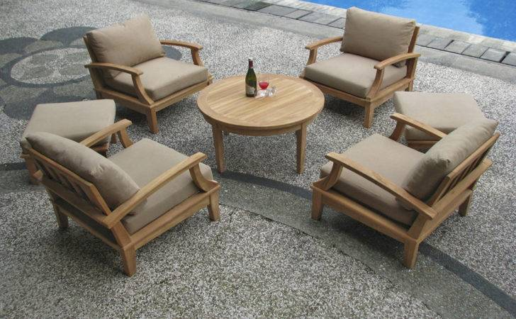 High End Teak Patio Furniture Deep Seating Collections