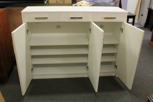 High Gloss Polyurethane Mdf Shoe Cabinet Australia Furniture
