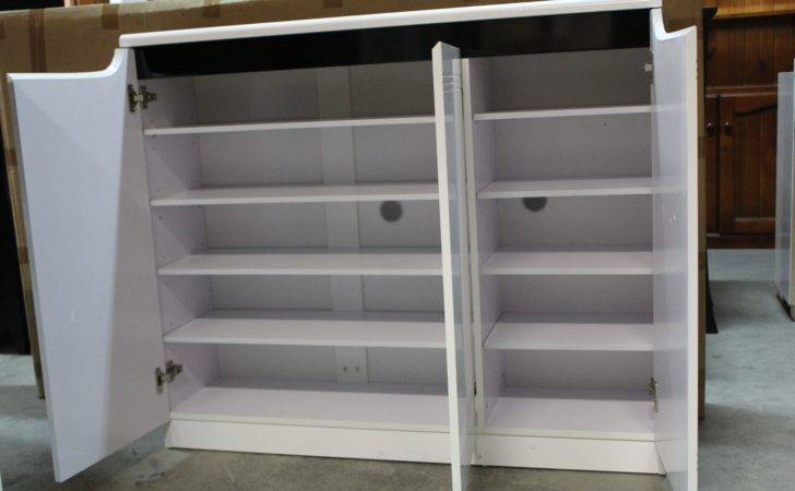 High Gloss Polyurethane Shoe Cabinet Australia Furniture