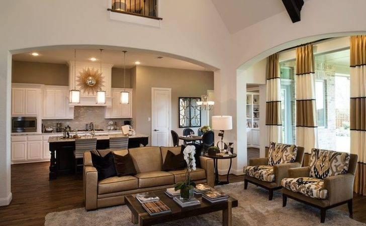Highland Homes Windsong Ranch Living Room Prosper Plan