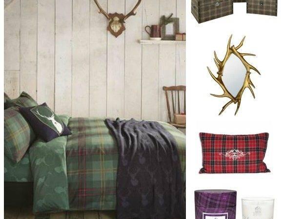 Highland Theme Going Shop Christmas Promotion