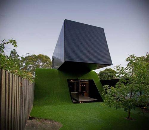 Hill House Design Melbourne Green Wall Interior