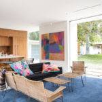 Hills New Construction Mid Century Modern Midcentury Room