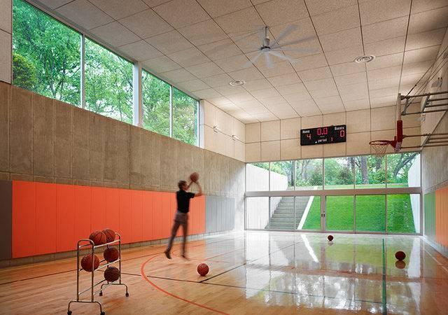 Hinsdale House Contemporary Home Gym Chicago Wheeler Kearns