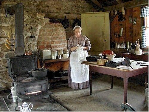 Historians Canada Loucks Farm Summer Kitchen Upper Village