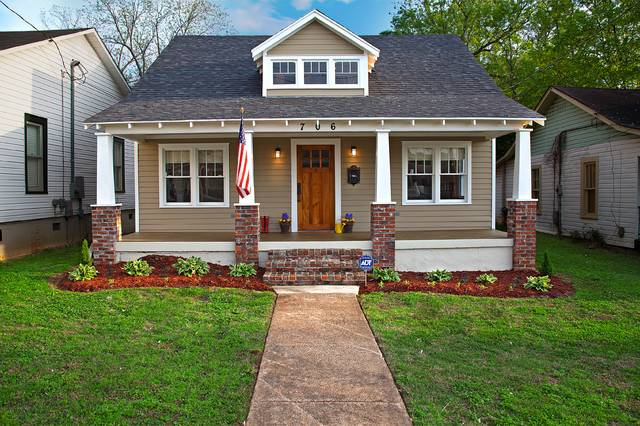 Historic Home Renovation Craftsman Exterior Birmingham