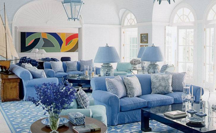 Home Accents Blue White Beach House Decorating Coastal Living