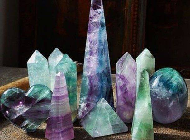 Home Accessory Crystal Quartz Jewels Cute