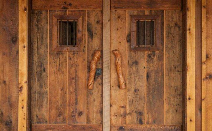 Home Antique Material Old World Door Collection