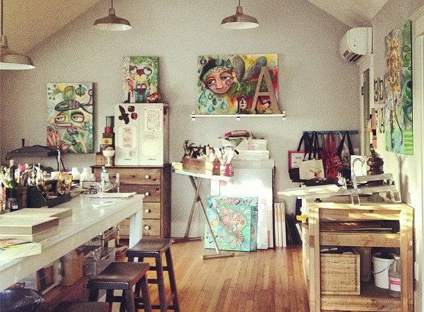 Home Art Studio Allen Designs