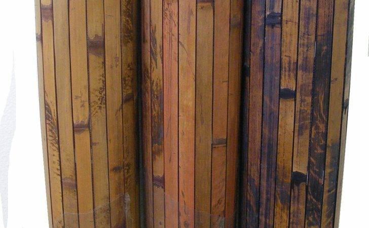 Home Bamboo Wall Paneling Cherry Chocolate