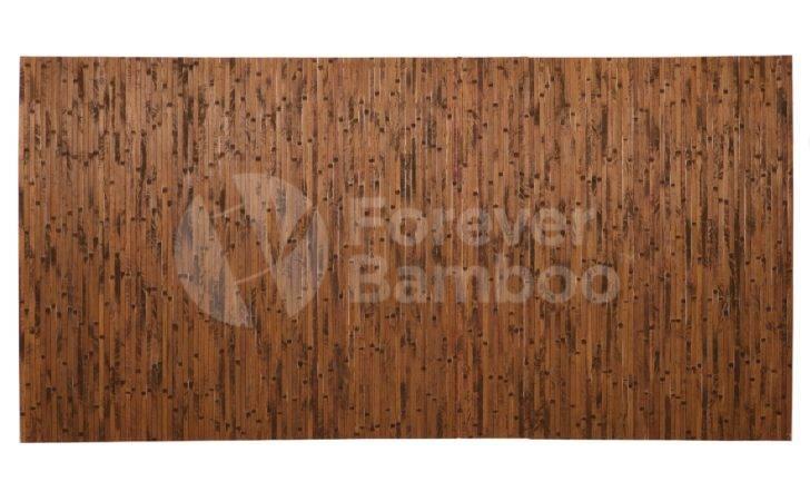 Home Bamboo Wall Paneling Dark Chocolate