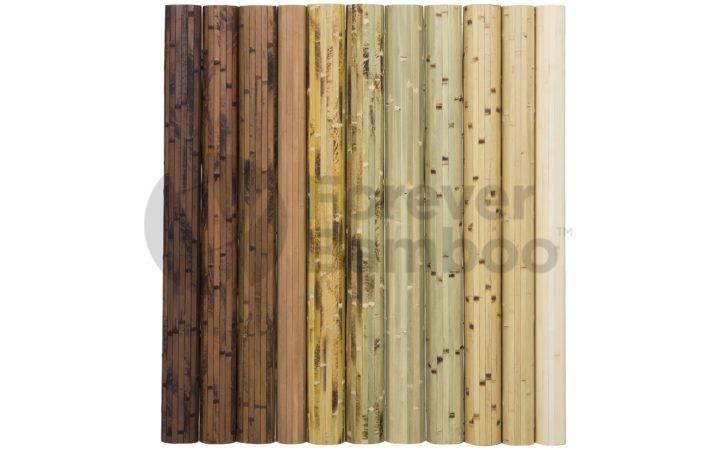 Home Bamboo Wall Paneling Natural Burnt