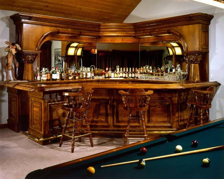 Home Bar Plans Easy Build Bars Pub Designs
