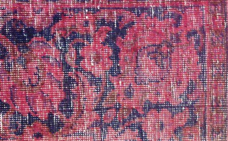 Home Bedroom Scarlet Dyed Persian Rug
