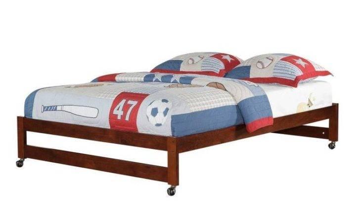 Home Caster Platform Bed