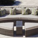 Home Cocoon Seat Rattan Garden Sofa Daybed