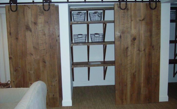 Home Decor Bedroom Closets Barn Door Closet