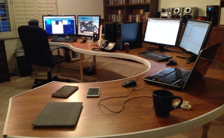 Home Decor Pinterest Computers Diy Computer Desk Plans