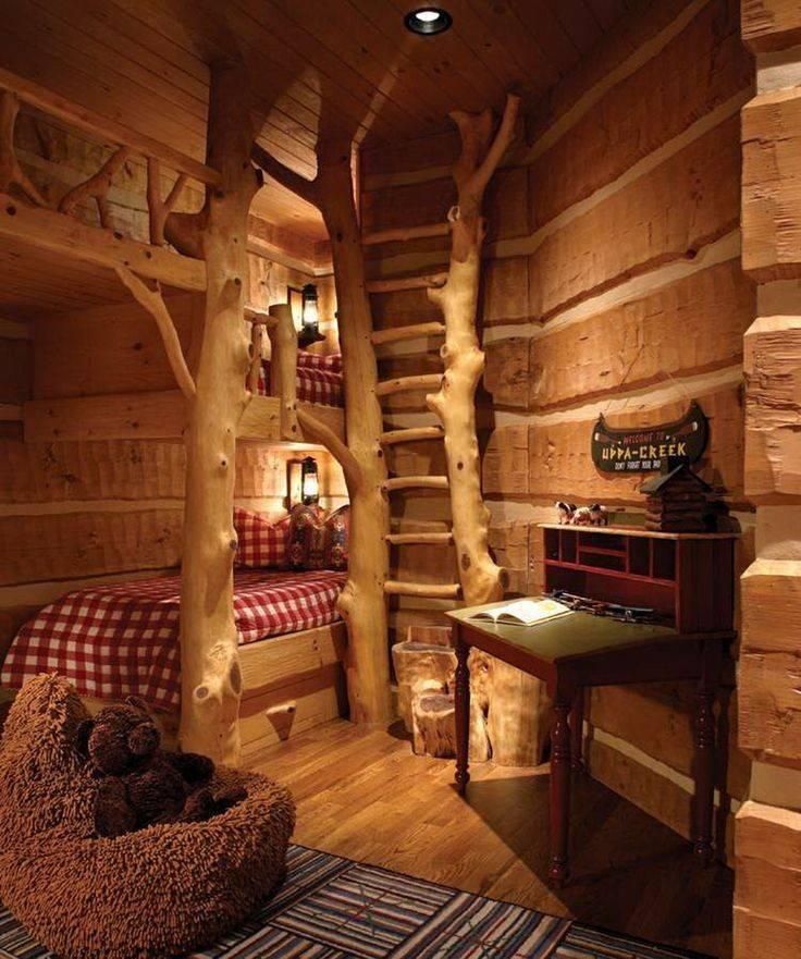 Home Decor Rustic Style Cabin Bunk Beds North Carolina